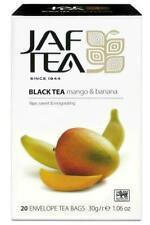 Jaf Mango And Banana Ceylon Black Tea, 20 Count Tea Bags 30G FREE SHIPPING