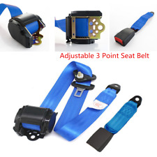 Universal Car Seat Belt Lap 3 Point Safety Travel Adjustable Auto  Accessories