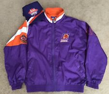 69090a8f385 Vintage Phoenix Suns Starter Purple Windbreaker Jacket Men s Medium  Matching Hat