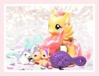 "❤️My Little Pony 3"" Brushable Fluttershy & Pet Original Traveling Single 2012 G4"