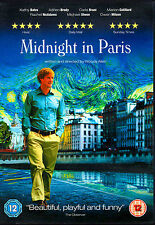 Midnight In Paris * DVD * 2011 * Owen Wilson * Kathy Bates * Michael Sheen