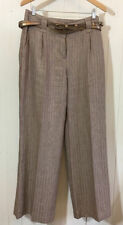 Marks and Spencer Wide Leg Tall Mid Trousers for Women