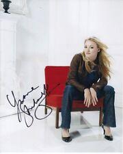 YVONNE STRAHOVSKI Signed Autographed CHUCK SARAH WALKER Photo