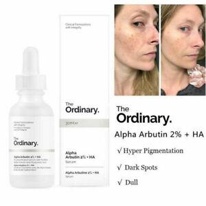 The Ordinary Alpha Arbutin 2%+HA Foundation Makeup Brighten Face Hyaluronic Acid