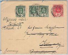 51805 - CEYLON - POSTAL HISTORY - POSTAL STATIONERY COVER from HALDUMMULLA 1911