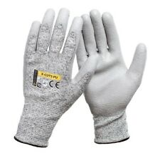 1 PAIR Cut Resistant Work Gloves LEVEL 5 PROTECTION Safe Palm Anti Cut