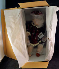 Maggie and Her Moose Heritage Signature Collection Porcelain Doll in Box #80013