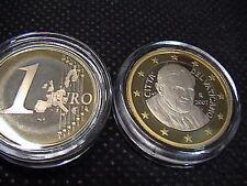VATICANO 2007 1 moneta 1 EURO FONDO A SPECCHIO PROOF FS PP BE in original capsel