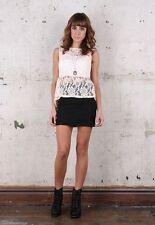 Waist Length Crew Neck Business Tops & Shirts for Women