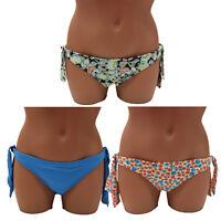 CK Calvin Klein Swimwear Women's Side Tie Bikini Bottom Bathing Swimsuit