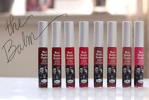 Meet Matt(e) Hughes Long Lasting Liquid Lipstick - Matte finish