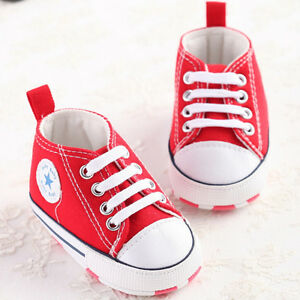 Baby Toddler Unisex Boy Girl Sneakers 0-13 cm Infant Crib Good Soft Sole Shoes