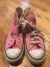 Converse Chuck Taylor Montante Toile Athlétique Baskets Femmes Chaussures 6.5 #