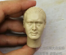 Free Shipping 1/6 scale God of Gamblers Chow Yun Fat blank Head Sculpt unpainted