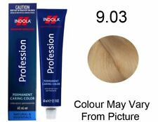 Indola Profession Permanent Colour 60ml 9.03 - Very Light Natural Gold Blonde