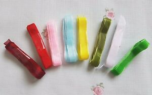 1cm x 2m organza ribbon, trim