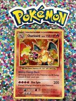 ⭐️ Classic 1st Old Base Art English Charizard Holo Card XY Set Non Shadowless 🎏