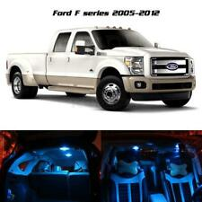 11 Pcs Ice Blue Led Light Interior Package for Ford F-250 F-350 F-450 2005-2016
