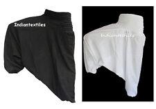 Ali Baba Gyps Harem Pant Plain Print Yoga Man Woman Trouser Indian Cotton Print