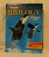 Glencoe Science Biology Dynamics of Life National Geographic Biggs Hagins Zike