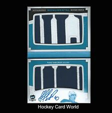 (HCW) 2013-14 The Cup Monumental NAIL YAKUPOV 2/5 RC Patch Auto UD Logo Booklet