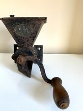 More details for rare antique archibald kenrick & sons no.1 patent coffee mill grinder cast iron