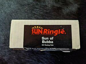 SUN Ringlé Sun of Bubba XC Racing Hub Front Hub VR Nabe Silber 28H