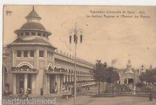 Exposition Universelle de Gand 1913, Section Anglais Postcard, B505