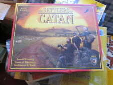 Settlers of Catan game complete with box