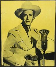 1940s-50s~HANK WILLIAMS~Vintage Sheet Music~Country Music Folio full of Photos +