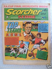 Comic Scorcher and Score, 6th May 1972; FA Cup Final Highlight.