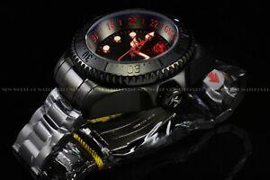 Invicta Men's 52mm Reserve Hydromax Quad Black Label GMT 1000M Diver Watch