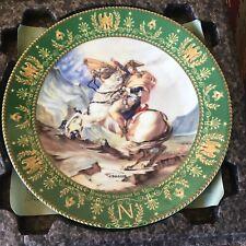 Napoleon Bonaparte Traversant les Alpes Collector Plate - by C.Boulme - Limoges