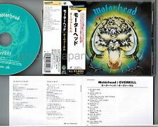 MOTORHEAD Overkill JAPAN CD UICY-60135 2009 limited w/OBI+BOOKLET Free S&H/P&P