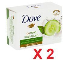 Dove Go Fresh Fresh Touch Cream Bar CUCUMBER & Green Tea 2 pcs X 100g