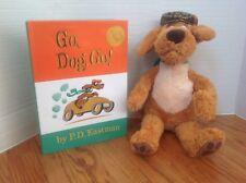 Kohl's Plush GO, DOG,GO w/ Hardcover Book P.D. Eastman ~ Cute & CLEAN!