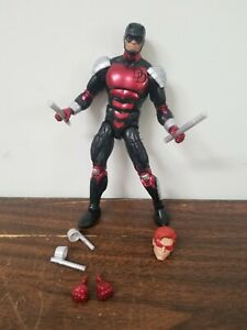 Hasbro Marvel Legends Armored Daredevil Spider-Man Retro Vintage Wave Loose