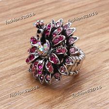 Roseo Peacock Stretch Ring Crystal Rhinestone Fashion Fashion Jewelry Gift