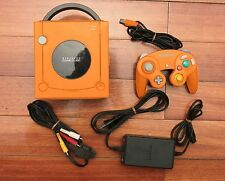 Nintendo GameCube Orange Console Japan system US Seller