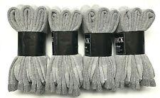 6/12 /24 P Premium Gray 34% Merino Wool, 34%Acrylic, Thermal Crew Sock SZ 10-13
