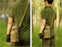 Outdoor Tactical Gear Military Molle Water Bottle Bag Hiking Kettle Pouch Holder