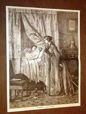 I gioielli di una madre Composizione del 1877