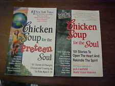 Chicken Soup for the Soul 2 Books Preteen and 101 Stories to Open the Heart USA