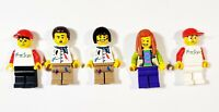 Lego Painter Artist Art Freestyle Town City Minifigures Lot of 5