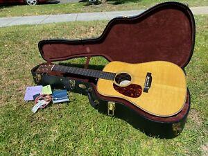2012 Martin D-28 Marquis Lefty Left Handed Acoustic Guitar - Fresh Set Up