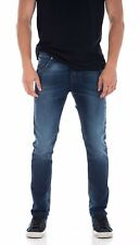 Diesel KROOLEY-NE 0674Y Sweat Jogg Jeans W30 Blue Sweatpants   Carrot Genuine