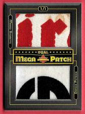 2020 Mario Andretti - Danica Patrick President's Choice Solitaire 1/1 Mega Patch