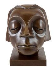 Bronzefigur - Kopf vom Güstrower Ehrenmal - signiert. E. Barlach