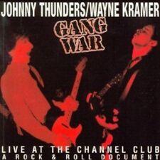 Johnny Thunders & Wayne Kramer - Gang War  CD 8 Tracks Alternative Rock NEW!
