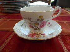 Regency Bone China Floral Teacup & Saucer 1-3